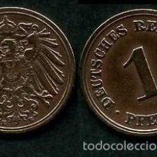 Moedas antigas da Europa: IMPERIO ALEMAN 1 PFENNIG AÑO 1894 E ( AGUILA ) Nº1. Lote 61299023