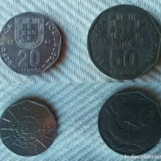 Monedas antiguas de Europa: LOTE 2 MONEDAS MONEDA DE PORTUGAL ESCUDOS ESCUDO. Lote 61384979