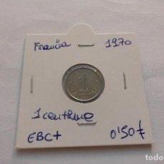 Monedas antiguas de Europa: FRANCIA 1 CENTIME 1970. Lote 61576008