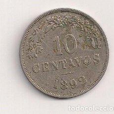 Monedas antiguas de Europa: BOLIVIA - 10 CENT 1892 - KM#172. Lote 62088140