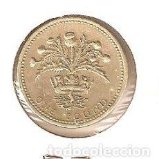Monedas antiguas de Europa: GRAN BRETAÑA 1 POUND 1984 1 LIBRA REINO UNIDO INGLATERRA ENCARTONADA. Lote 62470348