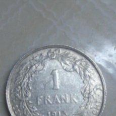 Monedas antiguas de Europa: BÉLGICA. 1 FRANCO DE PLATA DE 1913 DE ALBERTO I CON INSCRIPCIÓN EN NEERLANDÉS. EBC.. Lote 62637720