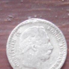 Monedas antiguas de Europa: DINAMARCA. 10 ORE DE PLATA DE CHRISTIAN IX DE 1897.. Lote 63272340