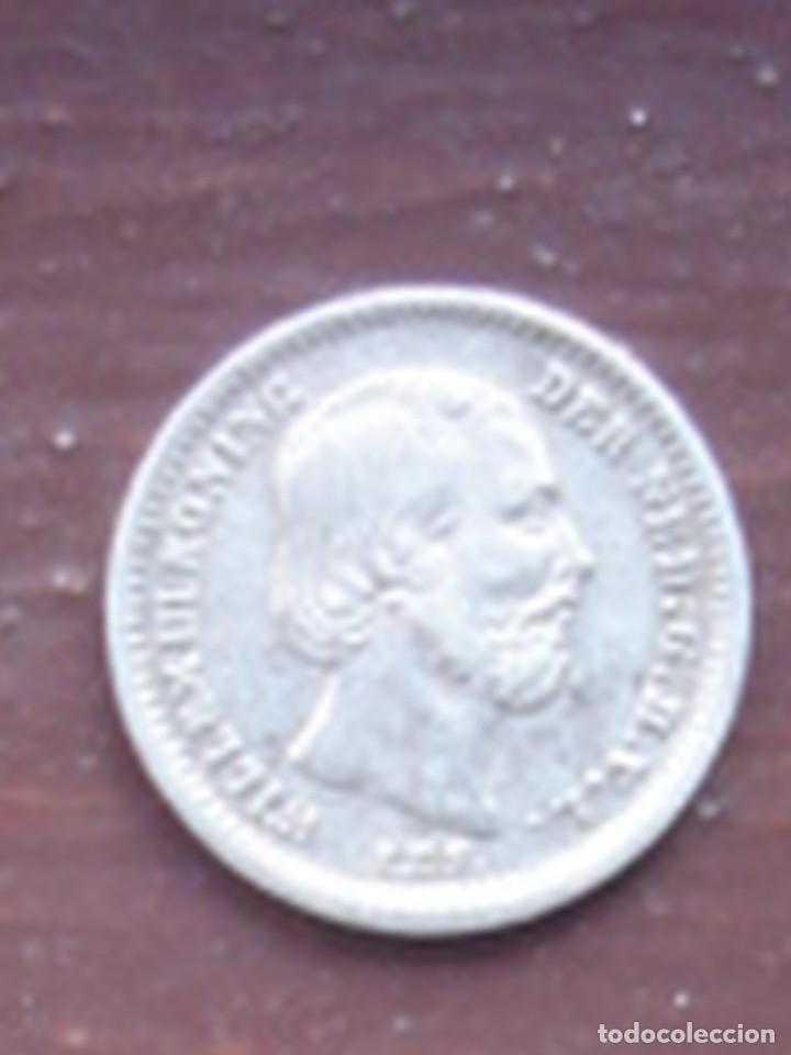 Monedas antiguas de Europa: Holanda. 5 céntimos de plata de 1862 de Guillermo III. EBC. - Foto 2 - 63334040