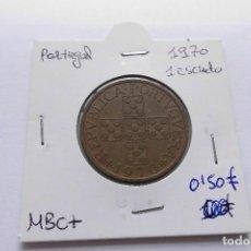 Monedas antiguas de Europa: PORTUGAL 1 ESCUDO 1970. Lote 63535972