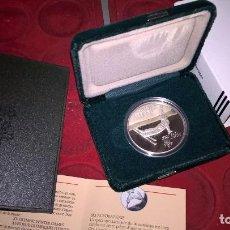 Monnaies anciennes de France: CANADA. ESQUÍ ACROBÁTICO. JUEGOS OLÍMPICOS DE CALGARY 1988. 20 DÓLARES. PLATA PURA. UNA ONZA TROY. Lote 64147759
