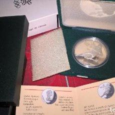 Monnaies anciennes de France: CANADA. PATINAJE. JUEGOS OLÍMPICOS DE CALGARY 1988. 20 DÓLARES. PLATA PURA. UNA ONZA TROY. Lote 64147839