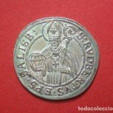 Monedas antiguas de Europa: 3 KREUSER AUSTRIA - SALZBURG AÑO 1687 - PLATA. Lote 64699883