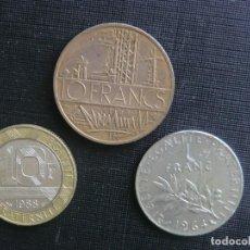 Monedas antiguas de Europa: ESPLÉNDIDA SERIE SIN CIRCULAR DE FRANCIA. Lote 64960575