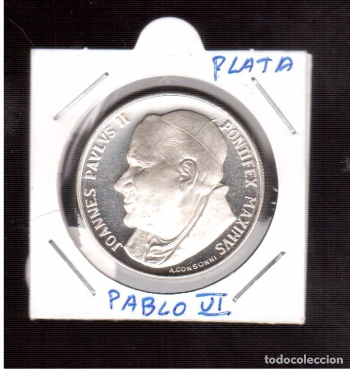 MONEDA DE PLATA DE JAUN PABLO II 20 GRAMOS NUMERO 103 (Numismática - Extranjeras - Europa)