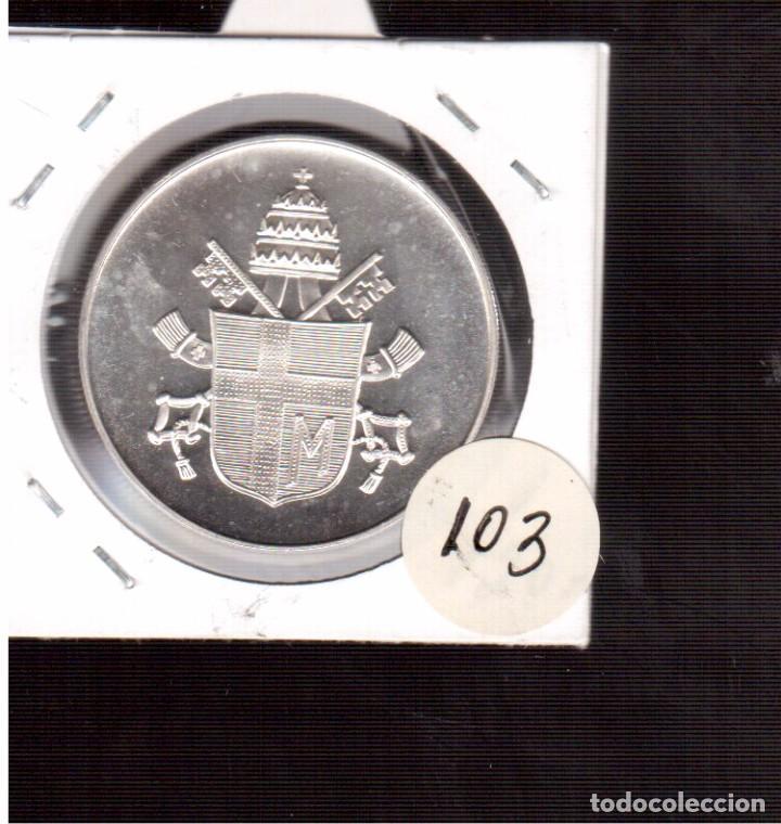 Monedas antiguas de Europa: MONEDA DE PLATA DE JAUN PABLO II 20 GRAMOS NUMERO 103 - Foto 2 - 65024047