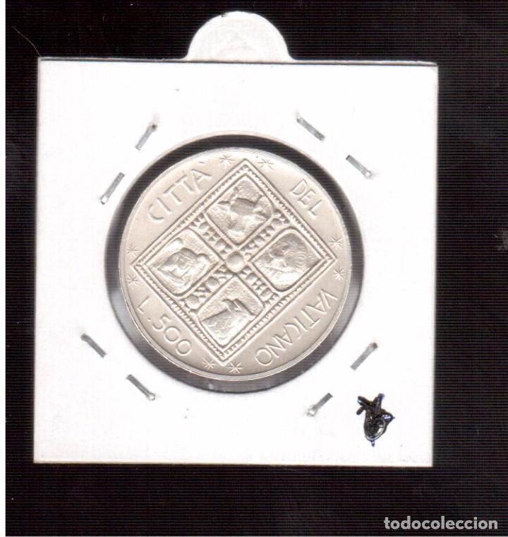 Monedas antiguas de Europa: MONEDA DE PLATA 500 l PABLO VI... 11 GRAMOS NUMERO 7 - Foto 2 - 65263983