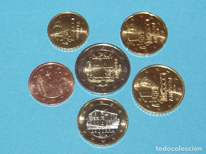 Andorra Set De 6 Monedas 2014 De 005 A 200 Comprar Monedas
