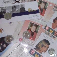 Monedas antiguas de Europa: BONITO LOTE DE CARTAS NUMISMATICAS DE PRINCESAS Y PRINCIPES NUMISBRIEF. Lote 66915486