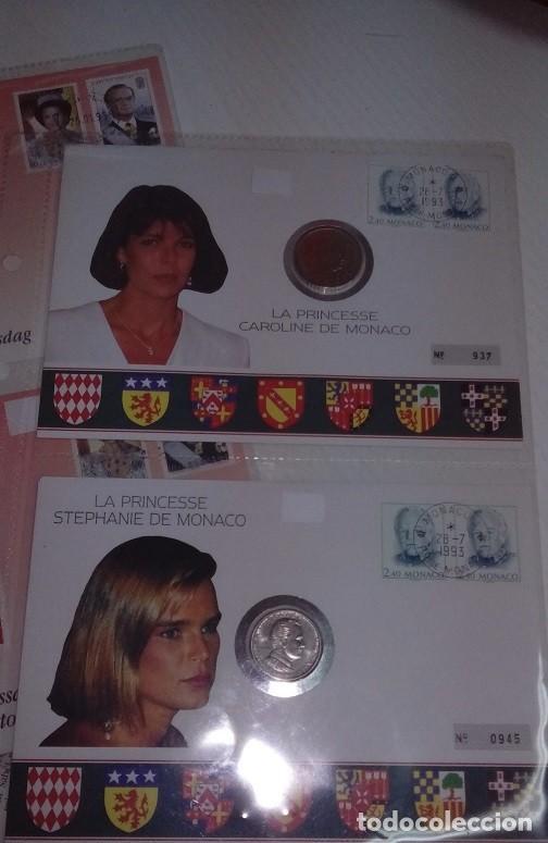 Monedas antiguas de Europa: BONITO LOTE DE CARTAS NUMISMATICAS DE PRINCESAS Y PRINCIPES NUMISBRIEF - Foto 5 - 66915486