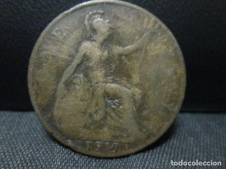Monedas antiguas de Europa: one penny 1917 georgius V GRAN BRETAÑA BC - Foto 2 - 67051750