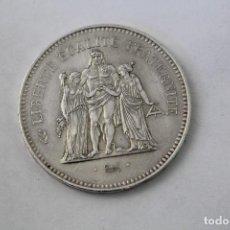 Monedas antiguas de Europa: 50 FRANCS - 50 FRANCOS. PLATA. FRANCIA - 1976. Lote 76689207