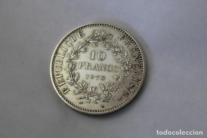 50 FRANCS - 10 FRANCOS. PLATA. FRANCIA - 1970 (Numismática - Extranjeras - Europa)