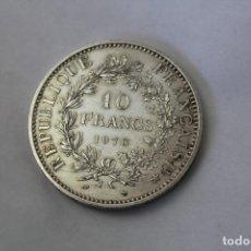 Monedas antiguas de Europa: 50 FRANCS - 10 FRANCOS. PLATA. FRANCIA - 1970. Lote 76689133