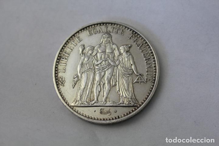 Monedas antiguas de Europa: 50 Francs - 10 Francos. Plata. Francia - 1970 - Foto 2 - 76689133