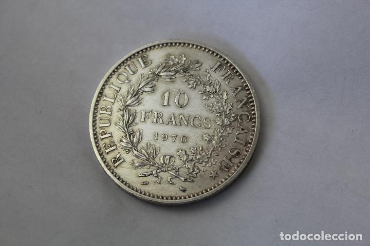 Monedas antiguas de Europa: 50 Francs - 10 Francos. Plata. Francia - 1970 - Foto 3 - 76689133