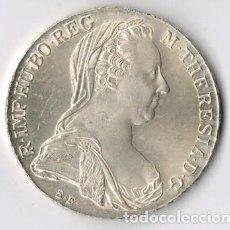 Monedas antiguas de Europa: AUSTRIA - 1 TALER THALER - 1780 - PLATA - SIN CIRCULAR. Lote 67309177