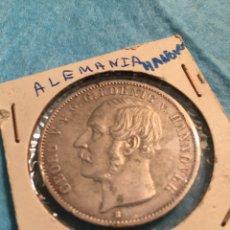 Monedas antiguas de Europa: MONEDA ALEMANA DE PLATA THALER HANNOVER 1855.. Lote 67442210