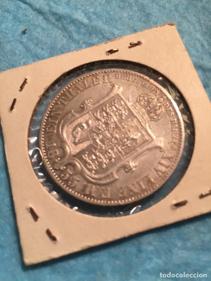 Monedas antiguas de Europa: Moneda Alemana de plata Thaler Hannover 1855. - Foto 4 - 67442210
