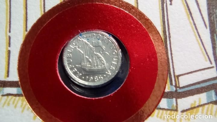 Monedas antiguas de Europa: MUY INTERESANTE CARTA NUMISMATICA NUMISBRIEF LA MAS PEQUEÑO DEL MUNDO - Foto 2 - 67662665