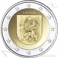 Monedas antiguas de Europa: LETONIA 2 EURO 2016 REGION VIDZEME - 1ª DE LA SERIE LATVIA LETTLAND LATVIJAS. Lote 194279546