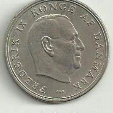 Monedas antiguas de Europa: MONEDA 5 CORONAS (KRONER) DINAMARCA 1968 KING FREDERIK IX MBC. Lote 67921437