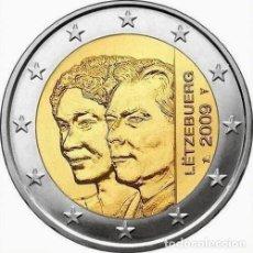 Monedas antiguas de Europa: LUXEMBURGO 2 EURO 2009 S/C 90 ANIV. TRONO DUQUESA CARLOTA. Lote 67946777