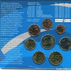 Monedas antiguas de Europa: GRECIA CARTERA EURO COIN SET 2011 OFFICIAL ISSUE. Lote 68285021