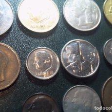 Monedas antiguas de Europa: LOTE DE 11 MONEDAS DE BÉLGICA. EXCELENTES Y SIN CIRCULAR.. Lote 68302525