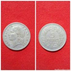 Monedas antiguas de Europa: MONEDA DE FRANCIA 5 FRANCS 1949. Lote 69498815