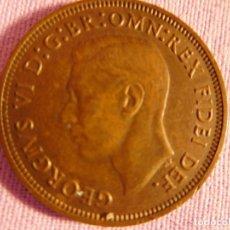 Monedas antiguas de Europa: GEORGE VI DE INGLATERRA,1951 HALF PENNY AND. Lote 69799501
