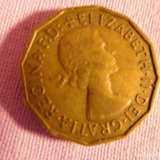 Monedas antiguas de Europa: GRAN BRETAÑA, 1955 REINA ELIZABETH II LATÓN . Lote 69800137