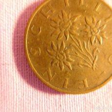 Monedas antiguas de Europa: MONEDA DE 1 SCHILLING. AUSTRIA. 1978. COBRE. Lote 69800237
