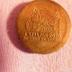 Monedas antiguas de Europa: MEDALLA DE EXFILNA 2010, CON LA DIOSA CIBELES DE MADRID. Lote 69850069