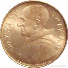 Monedas antiguas de Europa: VATICANO. PABLO VI. 500 LIRAS. 1.968. PLATA. Lote 70061601