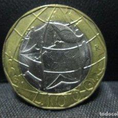 Monedas antiguas de Europa: 1000 LIRAS 1998 ITALIA EBC. Lote 71042141