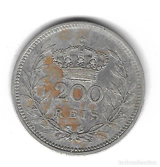MONEDA. PORTUGAL. 200 REIS. 1909 (Numismática - Extranjeras - Europa)