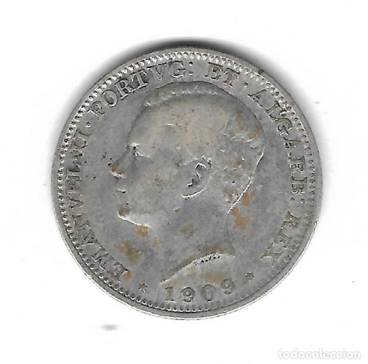 Monedas antiguas de Europa: MONEDA. PORTUGAL. 200 REIS. 1909 - Foto 2 - 71447587