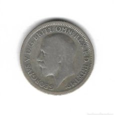 Monedas antiguas de Europa: MONEDA. INGLATERRA. 6 PENCE. 1928. PLATA. Lote 132174918