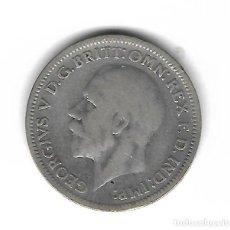 Monedas antiguas de Europa: MONEDA. INGLATERRA. 6 PENCE. 1936. PLATA. Lote 71867291