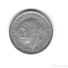 Monedas antiguas de Europa: MONEDA. INGLATERRA. 3 PENCE. 1935. PLATA. Lote 71868199