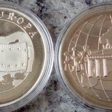Monedas antiguas de Europa: LOTE DE 2 MONEDAS DE EUROPA AÑOS1999 Y 2000 EN SUS CAPSULAS PROTECTORAS. Lote 73445923