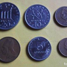 Monedas antiguas de Europa: LOTE 6 MONEDAS GRECIA. ATENAS. DRACMA. DRACMAS. VER FOTOGRAFIAS . Lote 73529847