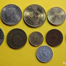 Monedas antiguas de Europa: LOTE 11 MONEDAS HUNGRIA HUNGARY BUDAPEST. MAGYAR KOZTARSASAG. FORINT. FILLER. VER FOTOS. Lote 73629503
