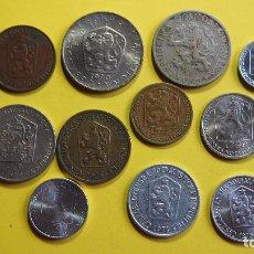 Monedas antiguas de Europa: LOTE 11 MONEDAS CHECOSLOVAQUIA, CHECOESLOVAQUIA. CESKOSLOVENSKA. CESKOSLOVENSKO. CESKO. Lote 73630819